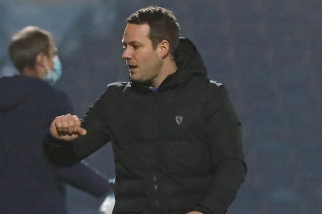 Chesterfield manager James Rowe has signed a new contract at the club. Picture: Tina Jenner.
