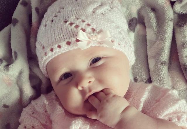 Little cutie Hope Amber Edwards. Photo by Kat Edwards.