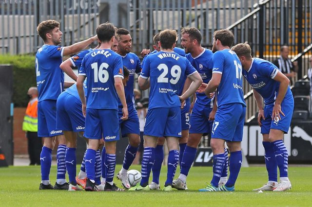 Chesterfield lost 3-2 at Notts County in the play-off eliminator on Saturday.