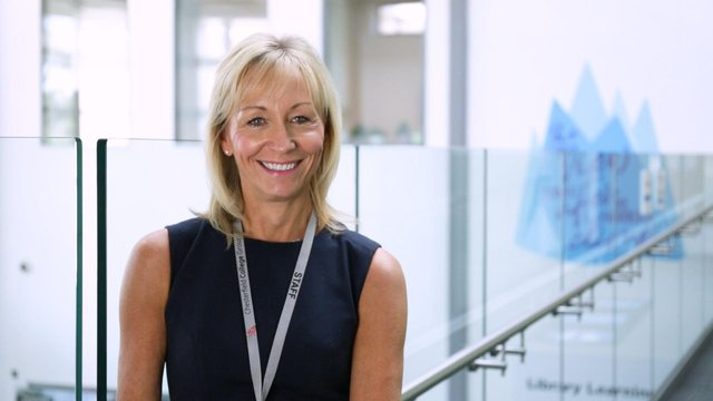 Julie Richards, principal of Chesterfield College.