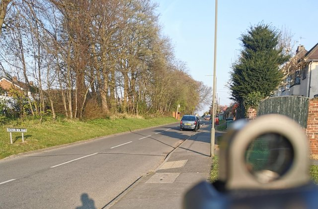 Officers are doing regular speed checks on Station New Road in Tupton.