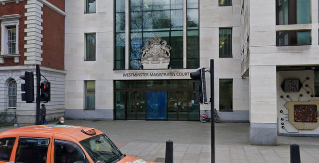 The 15-year-old from South Derbyshire appeared via a link into Westminster Magistrates' Court in London today (June 28)