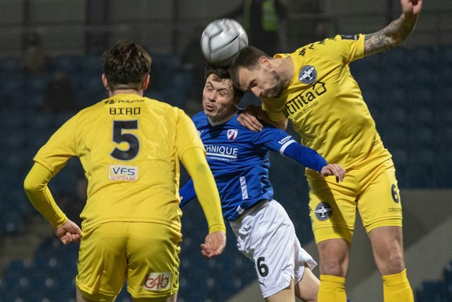 Jack Clarke made his first start for Chesterfield. Picture: Tina Jenner.