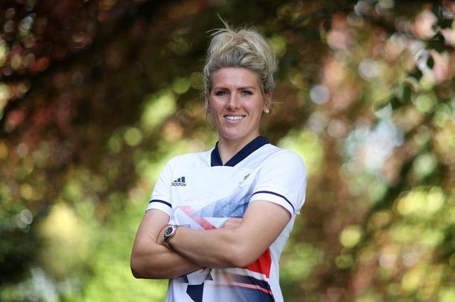 Chesterfield's Millie Bright  poses for a photo during the official announcement of Team GB's women's football squad. (Photo by Naomi Baker/Getty Images for British Olympic Association)