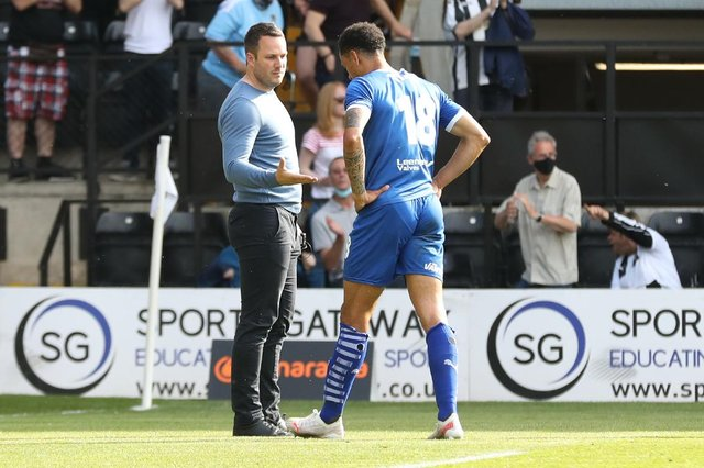 James Rowe took the Spireites from the relegation zone to the play-offs in seven months.