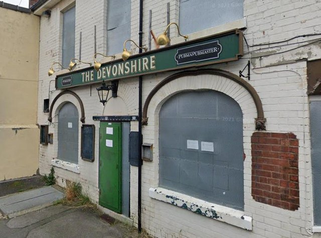 The former Devonshire Hotel in Newbold. Picture from Google.
