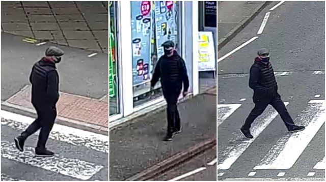 Police have released CCTV images of a man they want to speak to after an elderly woman had her purse stolen in Ripley.