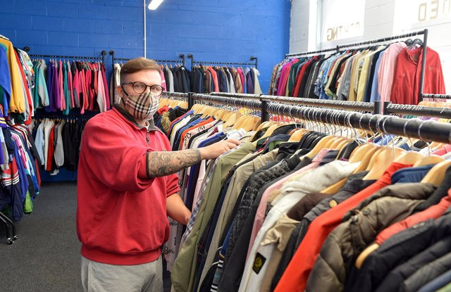 Dalton Bramley runs Gorilla Garms and is calling for residents to support independent retailers.