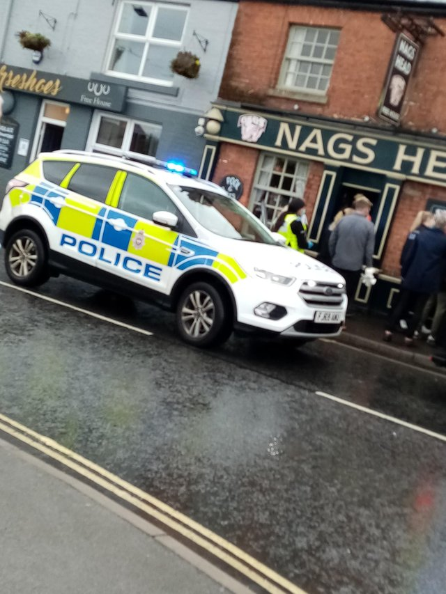 A man in his 20s was taken to hospital yesterday after he was allegedly assaulted on Market Street in Clay Cross.