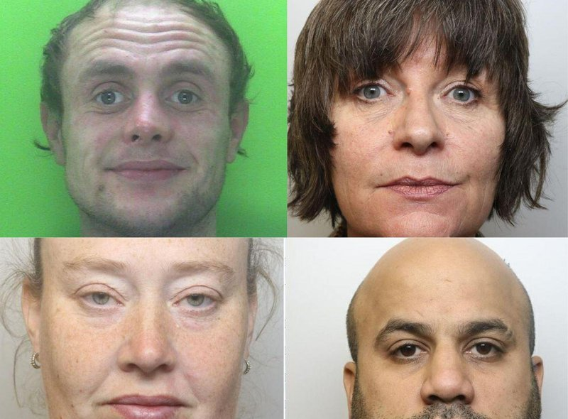 The faces of Chesterfield and Derbyshire criminals jailed since March