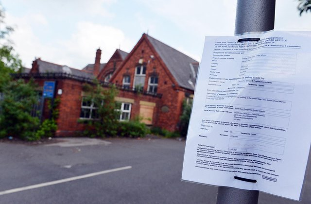 The former Clay Cross Junior School is to be demolished for new homes.