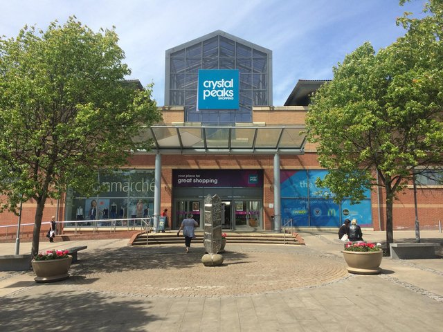 Crystal Peaks shopping centre in Sheffield, where a new bistro cafe is opening soon