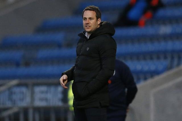 Chesterfield boss James Rowe.