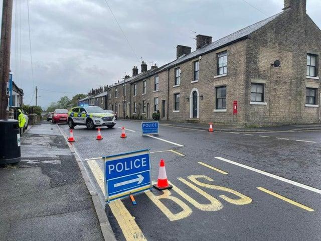 'Serious collision' at Charlesworth. Glossop Road