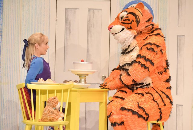 The Tiger Who Came To Tea. Photo by Robert Day.