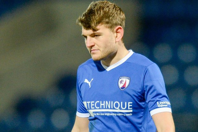 Laurence Maguire is a doubt for Friday's match at Eastleigh.