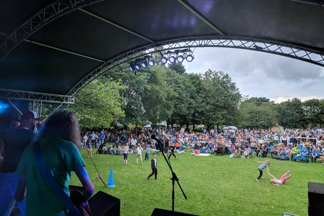 Crowds at the last Ripley Music Festival, in 2019.