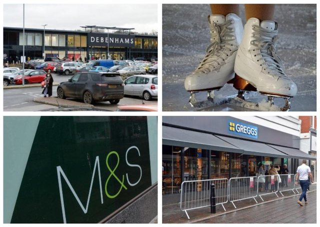 It remains to be seen what the future holds for Chesterfield's old Debenhams store.