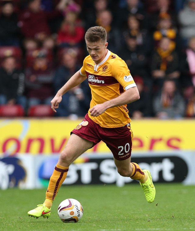 Fraser Kerr, pictured playing for Motherwell, has joined Chesterfield on a permanent deal from Torquay United. Photo by Ian MacNicol/Getty Images.