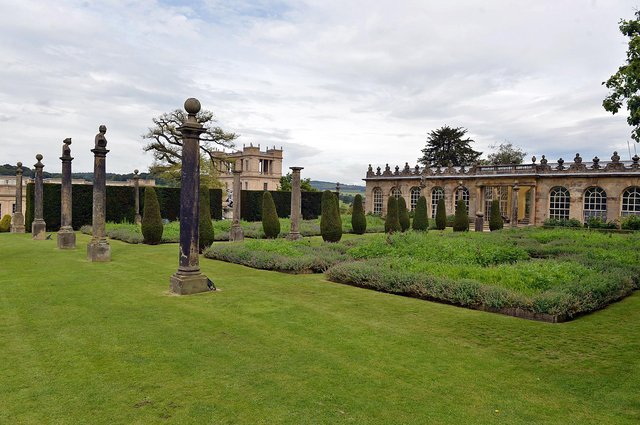 Chatsworth House garden is one of the top 20 most beautiful in Europe