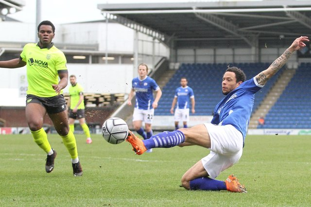 The win against Weymouth on Saturday was Town's third in a row.