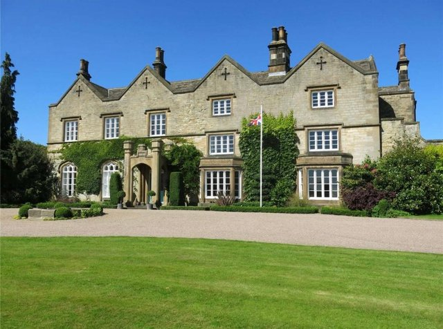 Chesterfield's Dunston Hall has origins in the 17th Centrury.