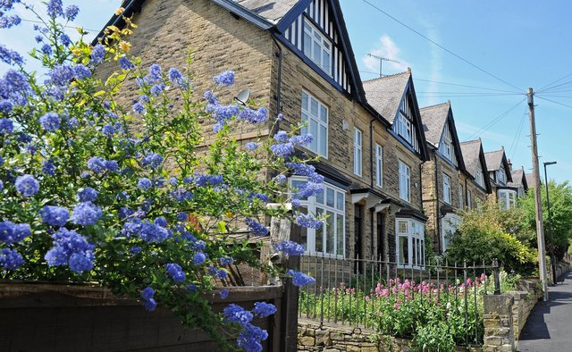 Homes with gardens are expected to attract a premium. Picture: Andrew Roe.