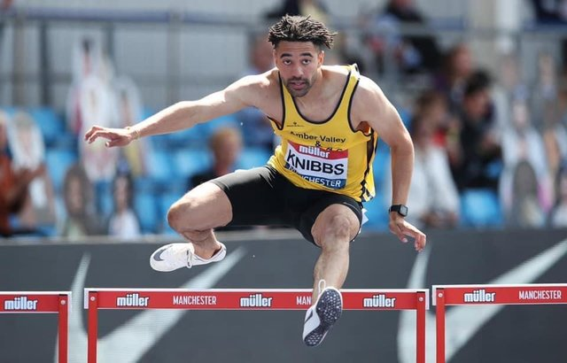 Alex Knibbs just missed out on a medal in Tallinn but ran a PB.