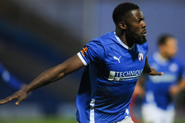 Akwasi Asante has signed a new contract at Chesterfield.