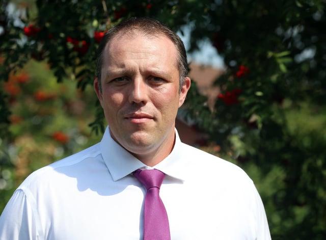 Dean Wallace, Derbyshire's public health director.