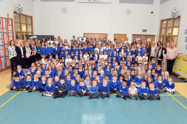 Abercrombie primary school, Chesterfield.